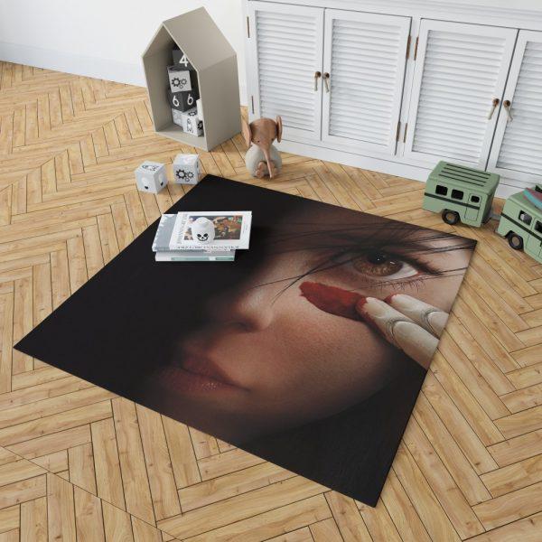 Alita Battle Angel Movie Fighting Super Girl Bedroom Living Room Floor Carpet Rug 2