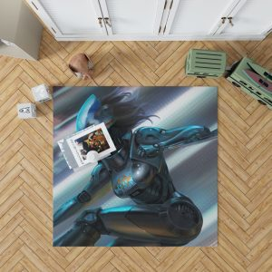 Alita Battle Angel Movie Thriller Bedroom Living Room Floor Carpet Rug 1