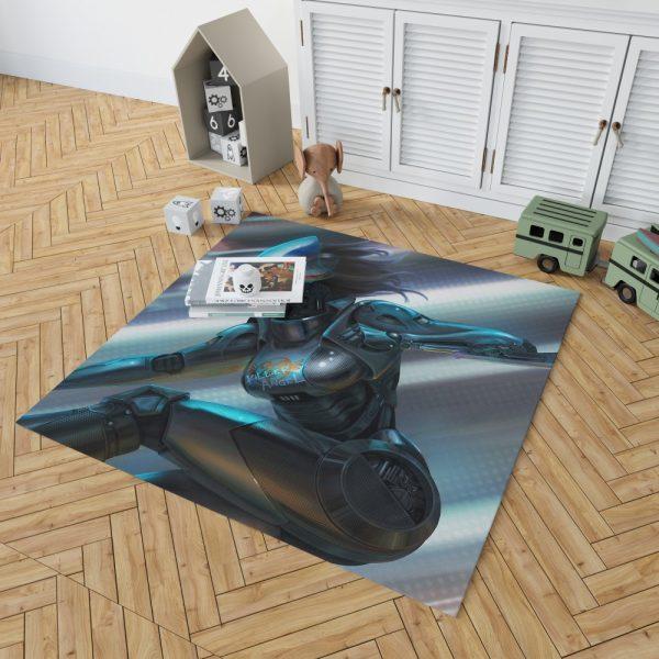 Alita Battle Angel Movie Thriller Bedroom Living Room Floor Carpet Rug 2
