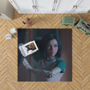 Alita Battle Angel Movie Women Warrior Bedroom Living Room Floor Carpet Rug 1