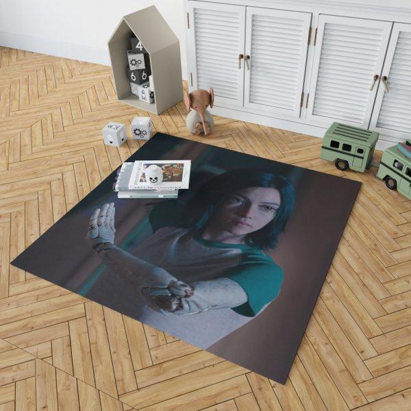 Alita Battle Angel Movie Women Warrior Bedroom Living Room Floor Carpet Rug 2