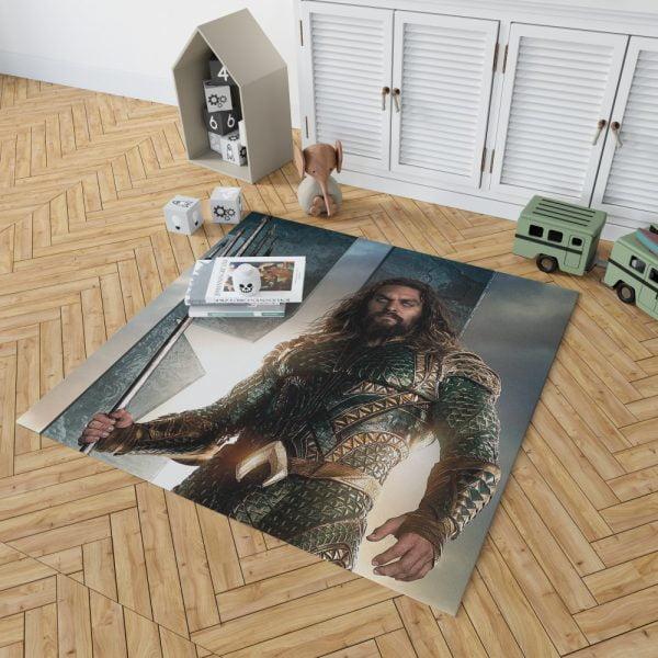 Aquaman Justice League Super Hero Bedroom Living Room Floor Carpet Rug 2