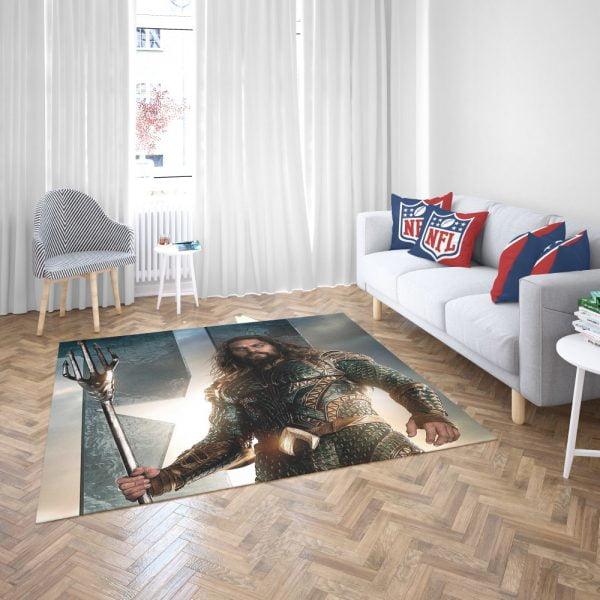 Aquaman Justice League Super Hero Bedroom Living Room Floor Carpet Rug 3