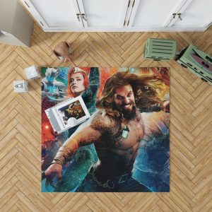 Aquaman Movie Amber Heard Jason Momoa Mera DC Universe Bedroom Living Room Floor Carpet Rug 1