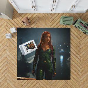 Aquaman Movie Amber Heard Mera DC Comics Bedroom Living Room Floor Carpet Rug 1