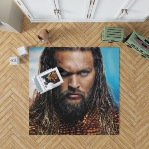 Aquaman Movie Jason Momoa Bedroom Living Room Floor Carpet Rug 1
