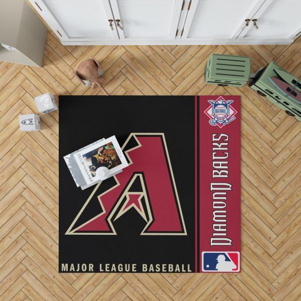 Arizona Diamondbacks MLB Baseball National League Floor Carpet Rug Mat 1