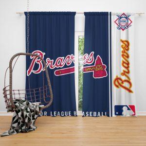 Arizona Diamondbacks MLB Baseball National League Window Curtain