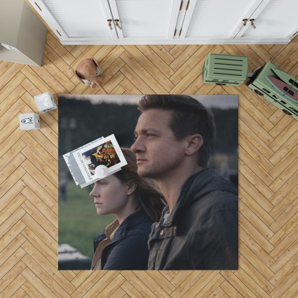 Arrival Movie Amy Adams Jeremy Renner Bedroom Living Room Floor Carpet Rug 1
