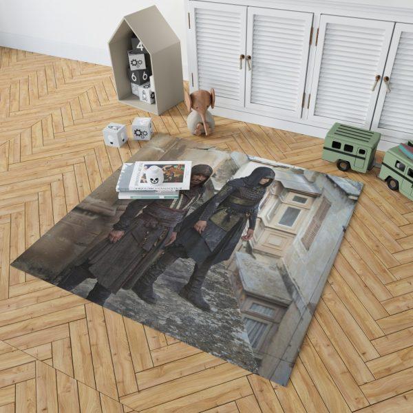 Assassin's Creed Movie Michael Fassbender Bedroom Living Room Floor Carpet Rug 2