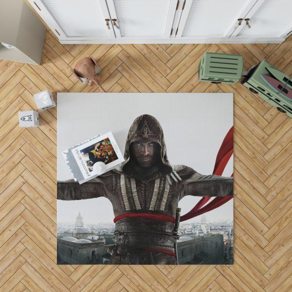 Assassin's Creed Movie Michael Fassbender Marion Cotillard Bedroom Living Room Floor Carpet Rug 1