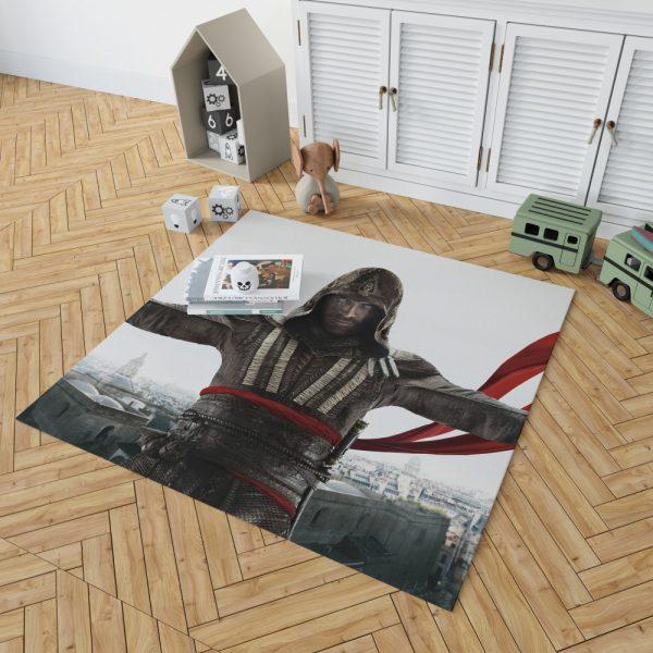 Assassin's Creed Movie Michael Fassbender Marion Cotillard Bedroom Living Room Floor Carpet Rug 2