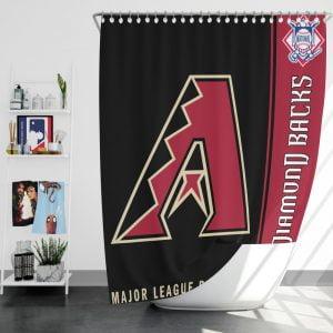 Atlanta Braves MLB Baseball National League Bath Shower Curtain