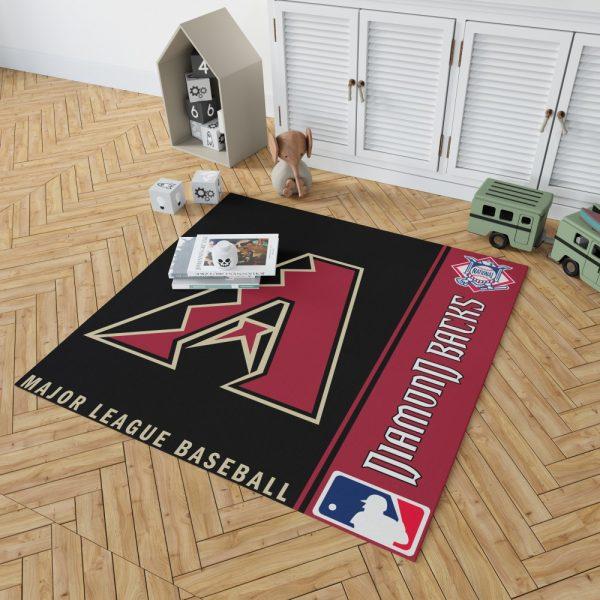 Atlanta Braves MLB Baseball National League Floor Carpet Rug Mat 2