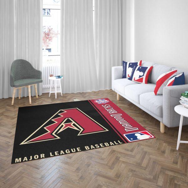 Atlanta Braves MLB Baseball National League Floor Carpet Rug Mat 3
