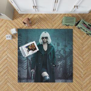 Atomic Blonde Movie Atomic Blonde Charlize Theron Bedroom Living Room Floor Carpet Rug 1