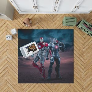 Avengers Age of Ultron Movie Iron Man War Machine Bedroom Living Room Floor Carpet Rug 1