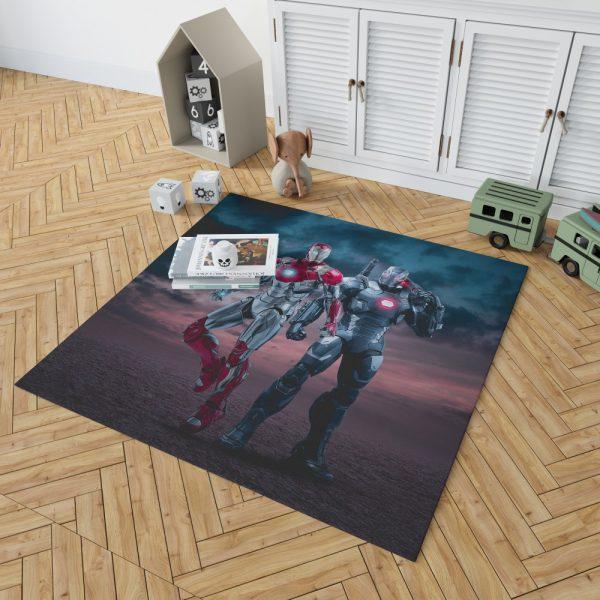 Avengers Age of Ultron Movie Iron Man War Machine Bedroom Living Room Floor Carpet Rug 2