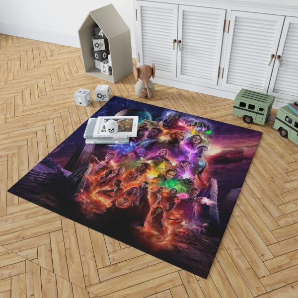 Avengers Endgame Movie Ant-Man Anthony Mackie Benedict Cumberbatch Bedroom Living Room Floor Carpet Rug 2