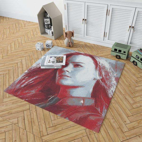 Avengers Endgame Movie Brie Larson Bedroom Living Room Floor Carpet Rug 2