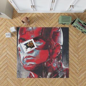 Avengers Endgame Movie Captain America Chris Evans Bedroom Living Room Floor Carpet Rug 1