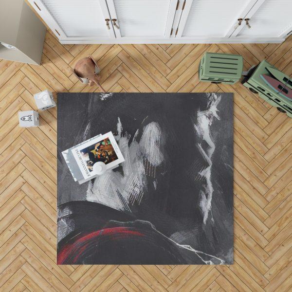 Avengers Endgame Movie Chris Hemsworth Thor Bedroom Living Room Floor Carpet Rug 1