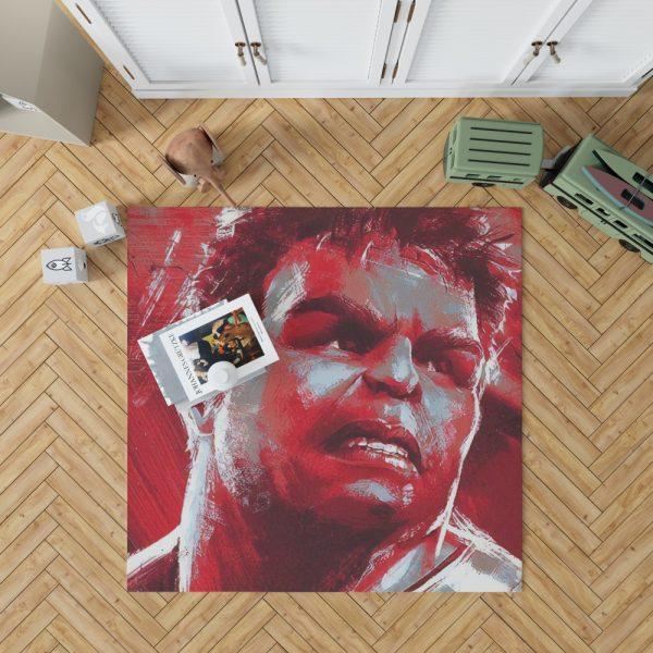 Avengers Endgame Movie Hulk Bedroom Living Room Floor Carpet Rug 1
