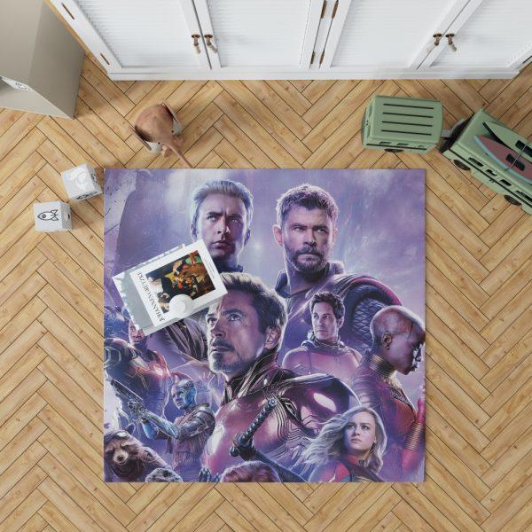 Avengers Endgame Movie Marvel Comics Bedroom Living Room Floor Carpet Rug 1