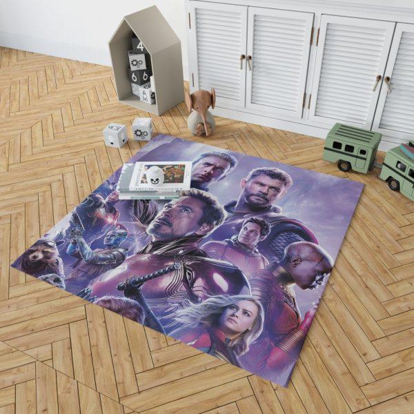 Avengers Endgame Movie Marvel Comics Bedroom Living Room Floor Carpet Rug 2