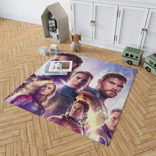 Avengers Endgame The Avengers Marvel MCU Bedroom Living Room Floor Carpet Rug 2