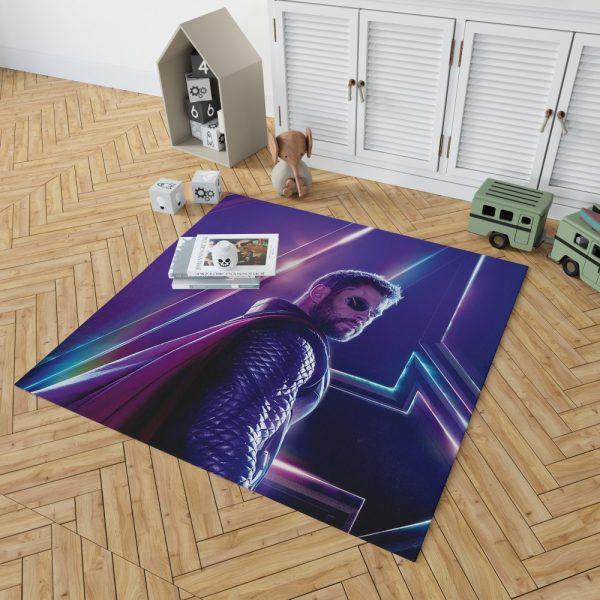 Avengers Infinity War Chris Hemsworth Thor Bedroom Living Room Floor Carpet Rug 2