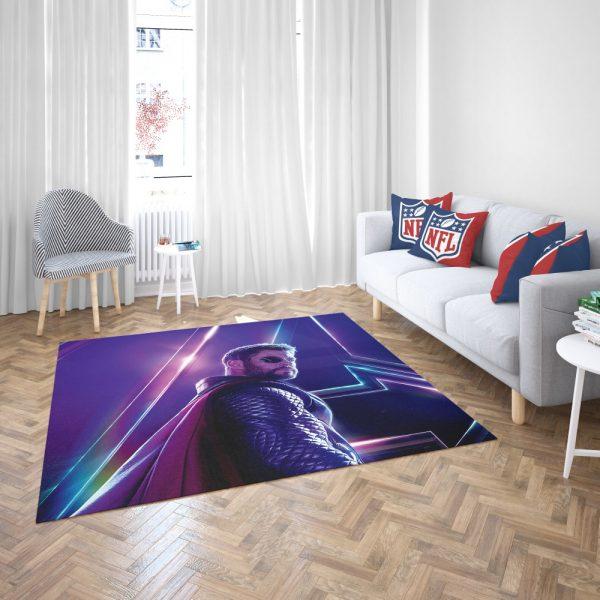 Avengers Infinity War Chris Hemsworth Thor Bedroom Living Room Floor Carpet Rug 3