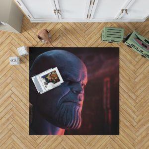 Avengers Infinity War Movie Marvel Comics Thanos Bedroom Living Room Floor Carpet Rug 1