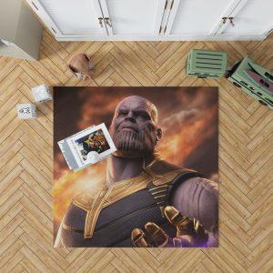 Avengers Infinity War Movie Thanos Bedroom Living Room Floor Carpet Rug 1
