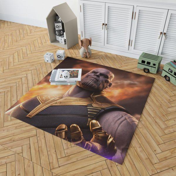 Avengers Infinity War Movie Thanos Bedroom Living Room Floor Carpet Rug 2
