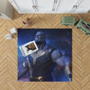 Avengers Infinity War Movie Thanos The Great Villain Bedroom Living Room Floor Carpet Rug 1
