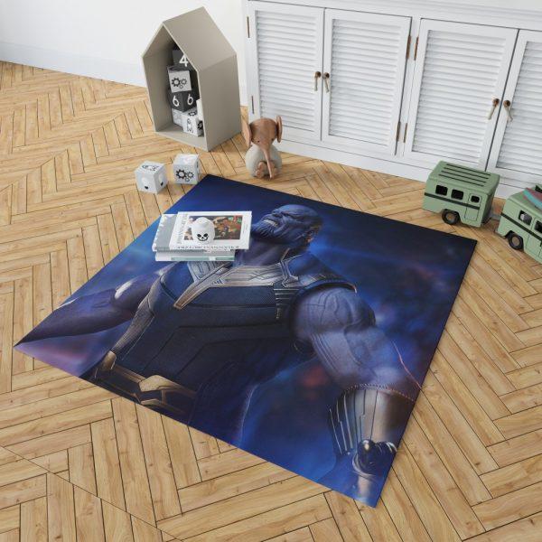 Avengers Infinity War Movie Thanos The Great Villain Bedroom Living Room Floor Carpet Rug 2