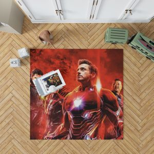 Avengers Infinity War Spider-Man Iron Man Doctor Strange Wong Bedroom Living Room Floor Carpet Rug 1