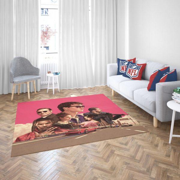 Baby Driver Movie Kids Bedroom Living Room Floor Carpet Rug 3