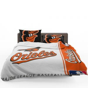 Baltimore Orioles MLB Baseball American League Bedding Set 1