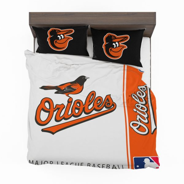 Baltimore Orioles MLB Baseball American League Bedding Set 2