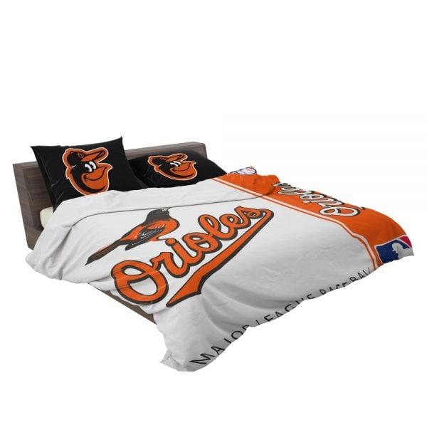 Baltimore Orioles MLB Baseball American League Bedding Set 3