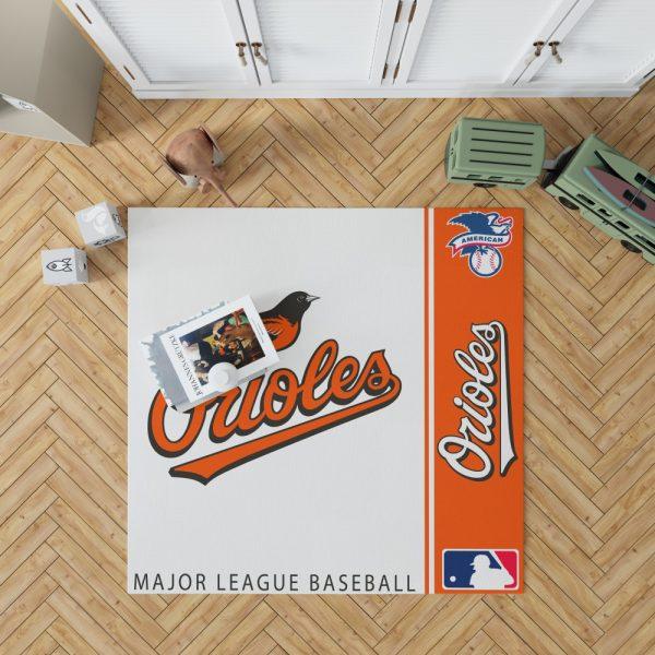 Baltimore Orioles MLB Baseball American League Floor Carpet Rug Mat 1