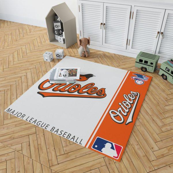 Baltimore Orioles MLB Baseball American League Floor Carpet Rug Mat 2