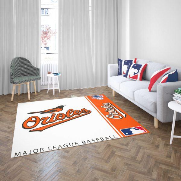 Baltimore Orioles MLB Baseball American League Floor Carpet Rug Mat 3