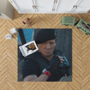 Barney Ross Sylvester Stallone The Expendables 3 Movie Bedroom Living Room Floor Carpet Rug 1