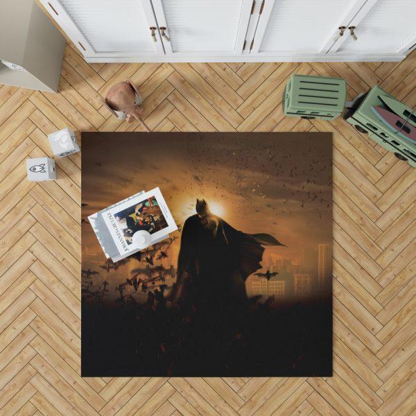 Batman Begins Movie Bruce Wayne Bedroom Living Room Floor Carpet Rug 1
