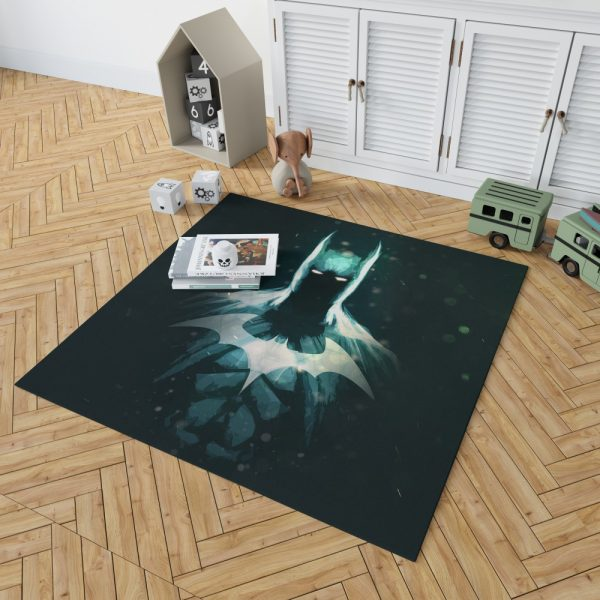 Batman Movie Artistic Bedroom Living Room Floor Carpet Rug 2
