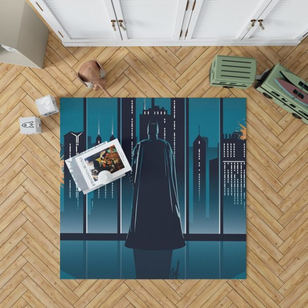 Batman Movie DC Comics Bedroom Living Room Floor Carpet Rug 1