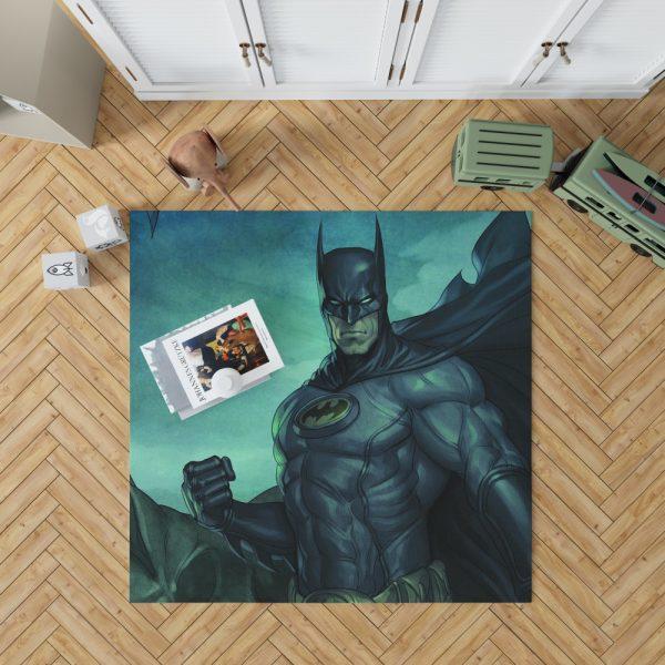 Batman Movie DC Comics Gothem City Bedroom Living Room Floor Carpet Rug 1